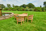 The Oxford Four Seat Teak Garden Furniture Set