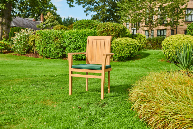 The Kingston Four Seat Teak Garden Furniture Set
