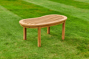 Longleat Wave Teak Coffee Table