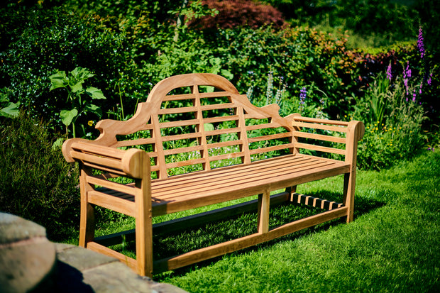 Sissinghurst Lutyens Four Seat Bench Extra Thick