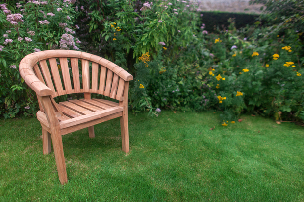 Sherringham Teak Sunburst Chair