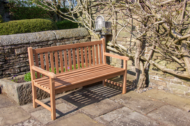 Hardwick Three Seat Teak Bench