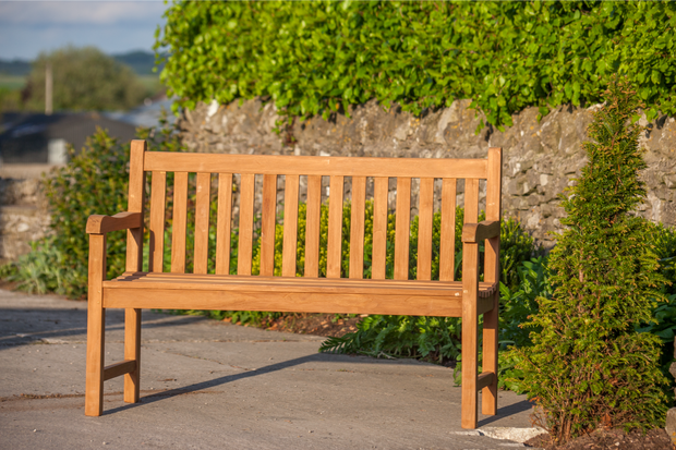 Hardwick Two Seat Teak Bench