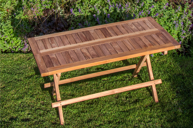 Tatton Rectangular Teak Coffee Table