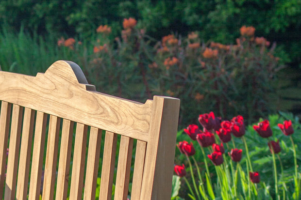 Levens Three Seat Teak Memorial Bench