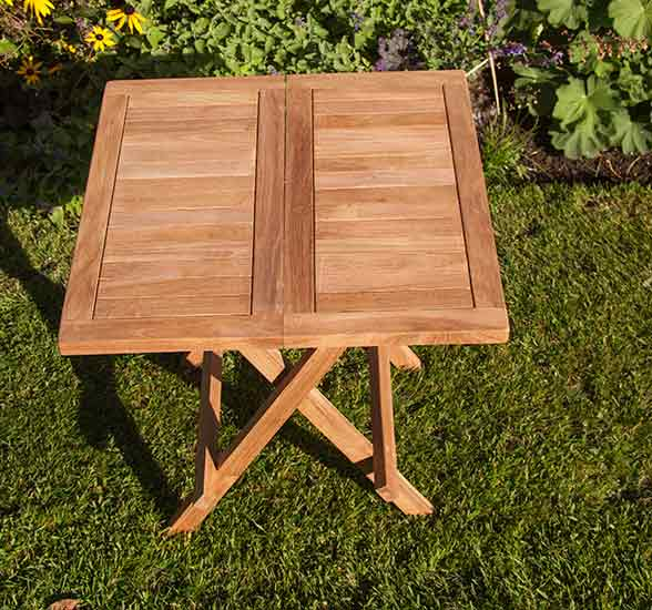Tatton Folding Square Coffee Table
