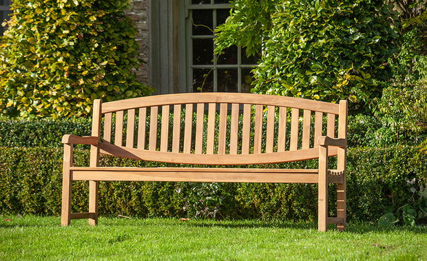 Chatsworth Four Seat Teak Bench