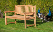 Chatsworth Two Seat Teak Bench