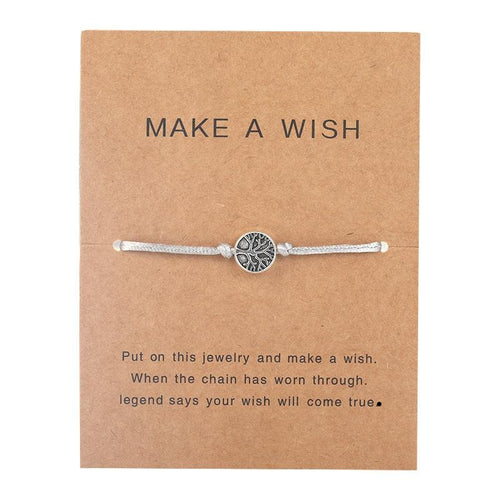 Make a Wish - Life tree - Grey