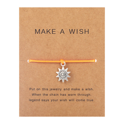Make a Wish - Sun - Orange