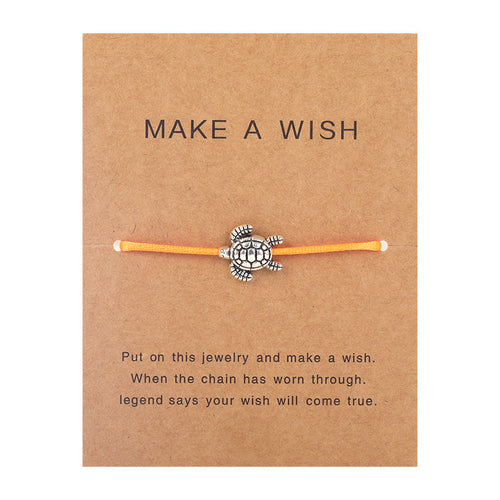 Make a Wish - Turtle - Orange