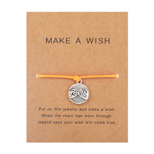 Make a Wish - Pinky swear - Orange