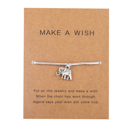 Make a Wish - Elephant - Grey ||