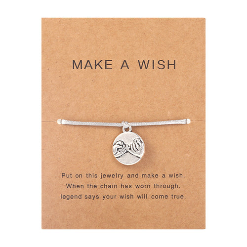 Make a Wish - Pinky swear - Grey