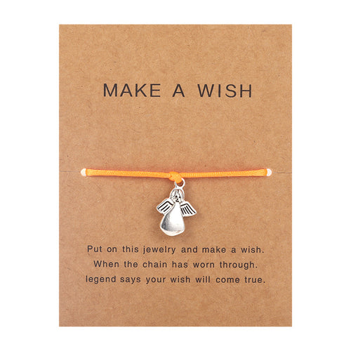 Make a Wish - Angel - Orange