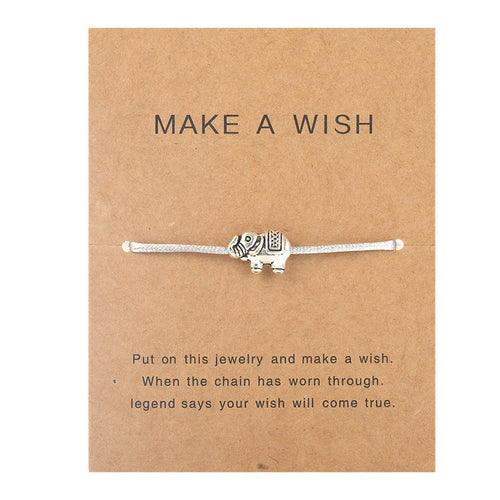Make a Wish - Elephant - Grey