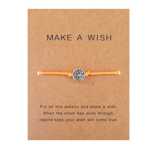 Make a Wish - Life tree - Orange