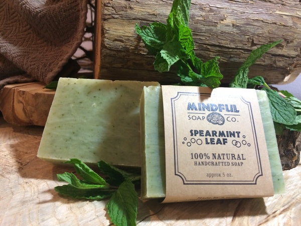 Spearmint Leaf Soap Bar