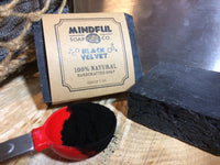 Black Velvet - Activated Charcoal Soap Bar