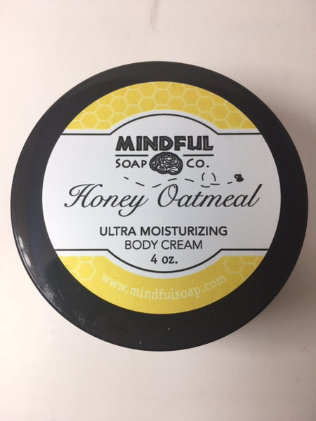 Honey Oatmeal Body Cream