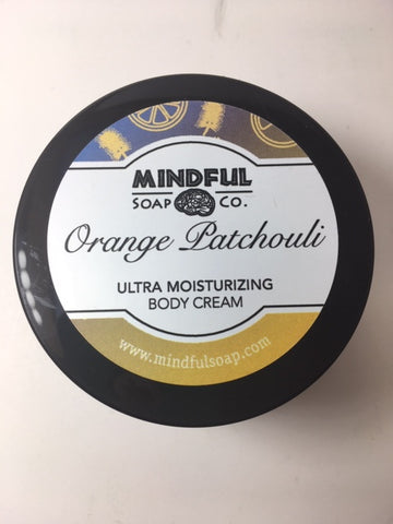 Orange Patchouli Body Cream