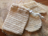 Sisal Soap Pouch and Mitt