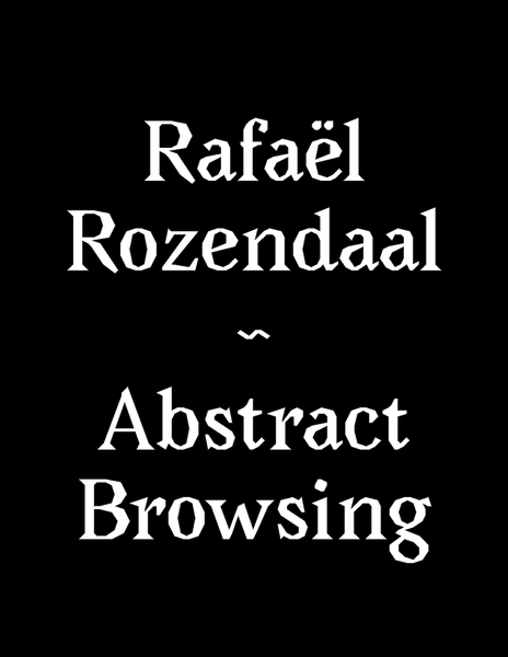 Abstract Browsing by Rafaël Rozendaal