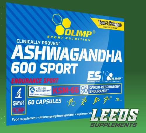 Olimp Nutrition Ashwagandha 600 Sport - 60 caps Ashwagandha (Withania somnifera) is commonly known as Indian ginseng, or winter cherry, and it is one of the most important herbs used in Ayurveda (a system of Indian medicine developed in ancient times). In traditional Hindu philosophy, it is treated as a rejuvenating agent, the so-called Rasayana.