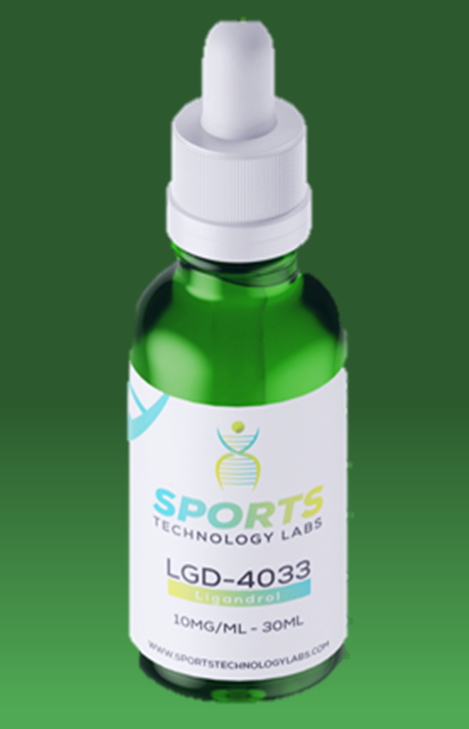 LGD-4033 is a 3rd generation non-steroidal oral SARM with a high affinity for the androgen receptor (Ki of ~1 nM). It is currently the second most popular SARM on the market. Unlike testosterone which exerts anabolic effects by the same pathway, LGD-4033 has high selectivity for receptors in skeletal muscle, bone, and connective tissue, with minimal affinity for receptors in the prostate, scalp