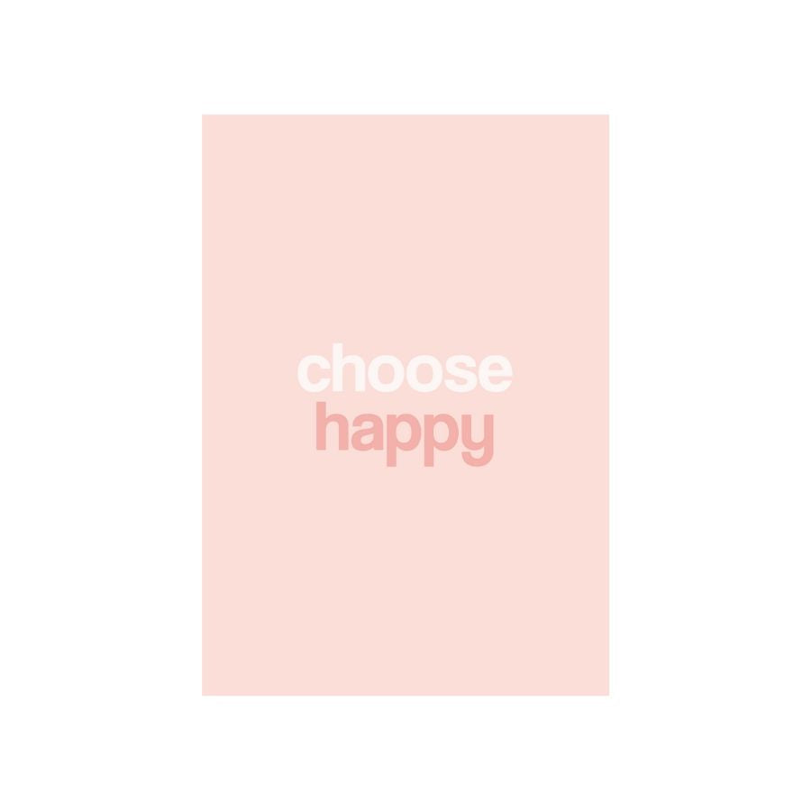 Load image into Gallery viewer, Choose Happy Postcard