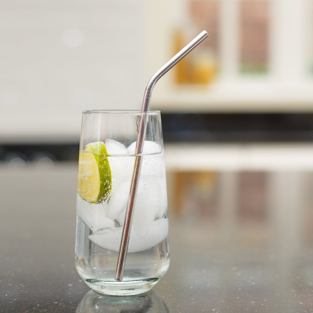 Eco-Friendly Slim Stainless Steel Straws
