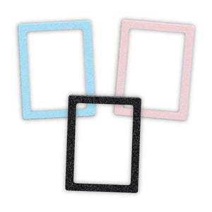 Load image into Gallery viewer, Set of 3 Glitter Magnetic Photo Frames