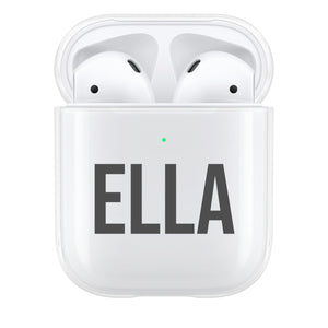 Personalised Bold AirPod Case