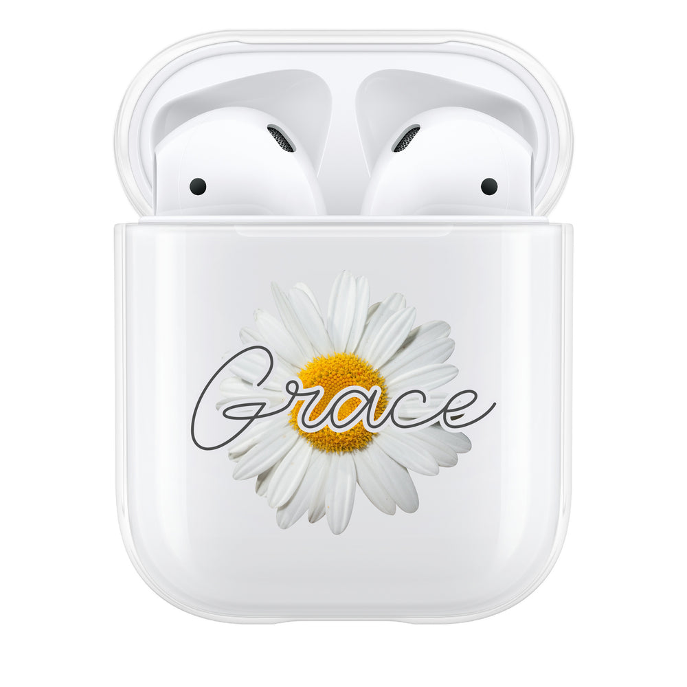 Personalised Daisy AirPod Case
