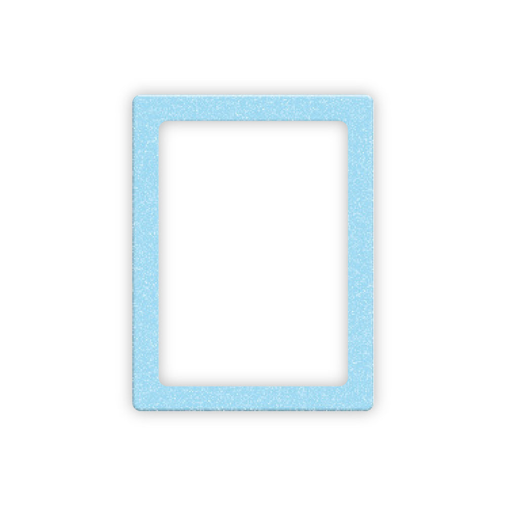 Blue Glitter Magnetic Photo Frame