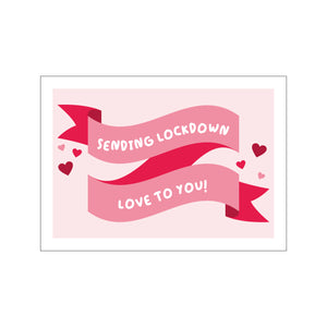 Load image into Gallery viewer, Lockdown Love Postcard