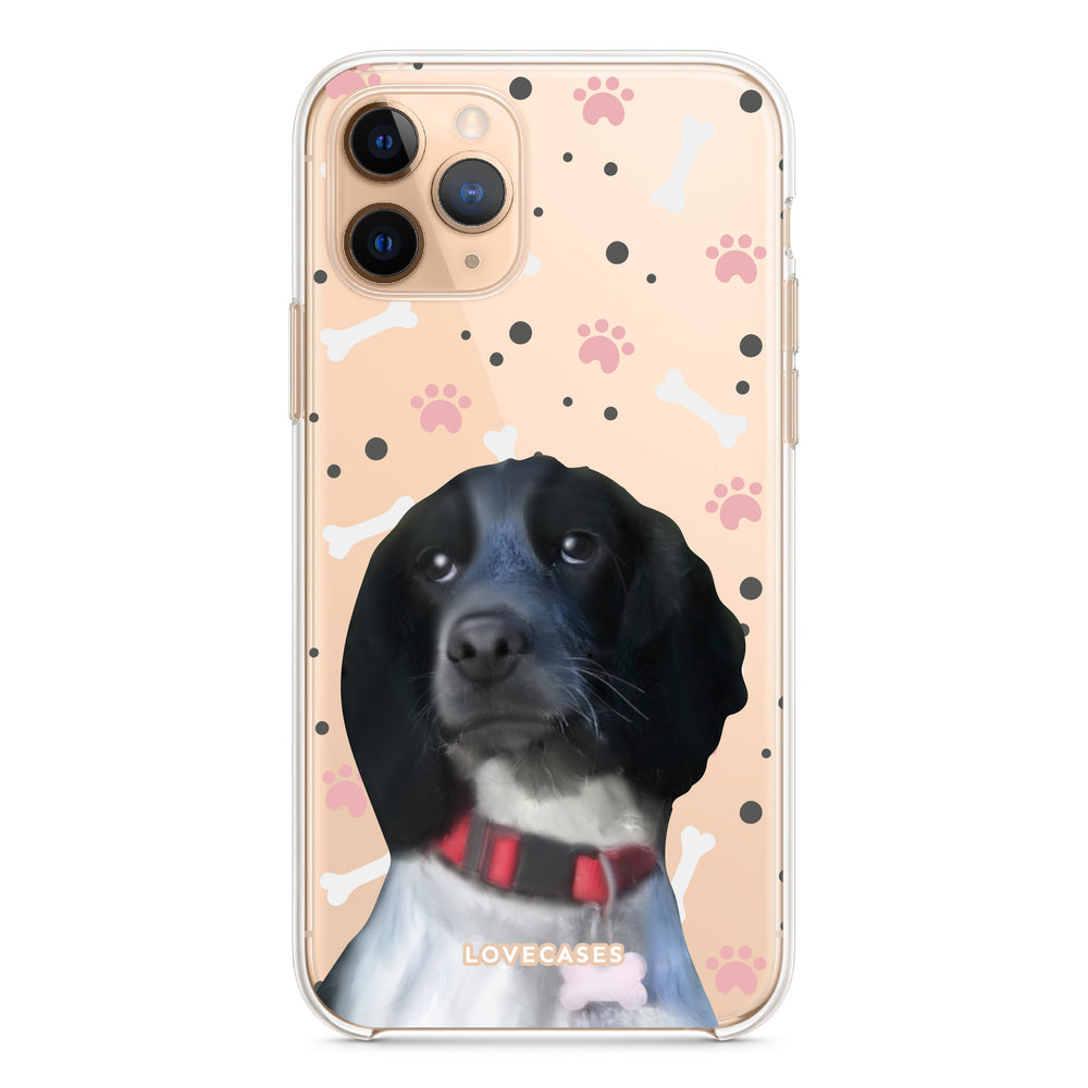 Load image into Gallery viewer, Personalised Pet Portrait Phone Case