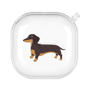 Load image into Gallery viewer, Richmond the Dachshund Galaxy Bud Case