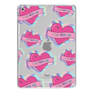 Scarletts_world_ x LoveCases Holographic Heart iPad Case