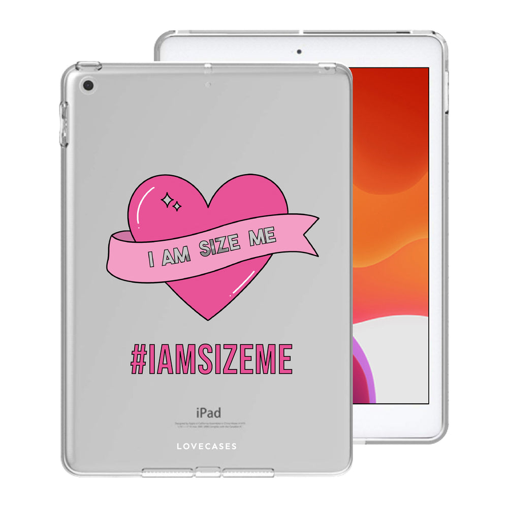 Load image into Gallery viewer, Scarletts_world_ x LoveCases #iamsizeme iPad Case