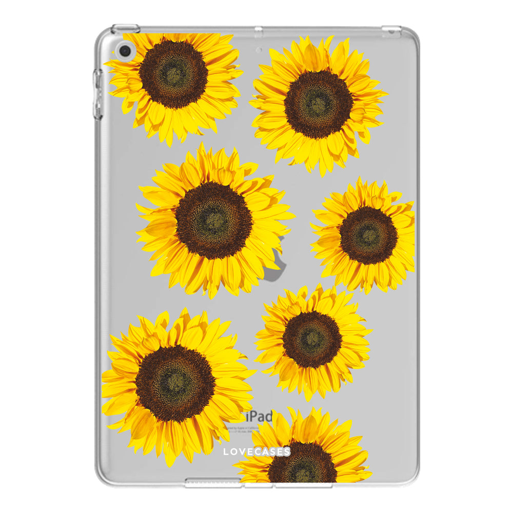 Load image into Gallery viewer, Sunflower iPad Case