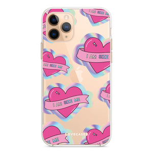 Scarletts_world_ x LoveCases Holographic Heart Phone Case