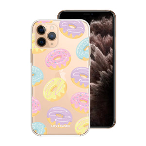 Donut Worry Be Happy Phone Case