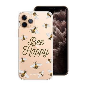 Load image into Gallery viewer, Bee Happy Phone Case