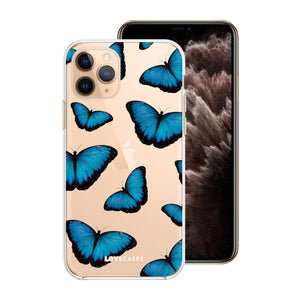 Load image into Gallery viewer, Blue Butterfly Phone Case