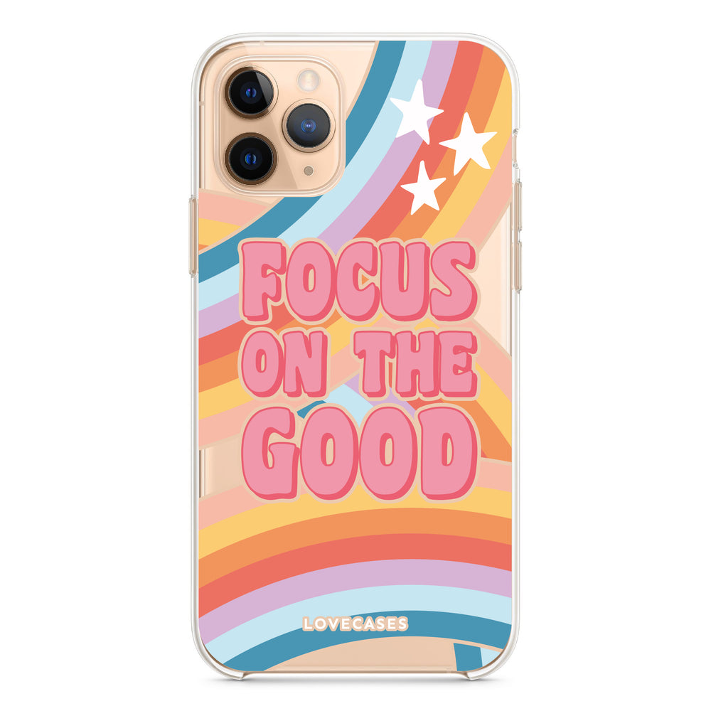 Load image into Gallery viewer, Focus On The Good Phone Case