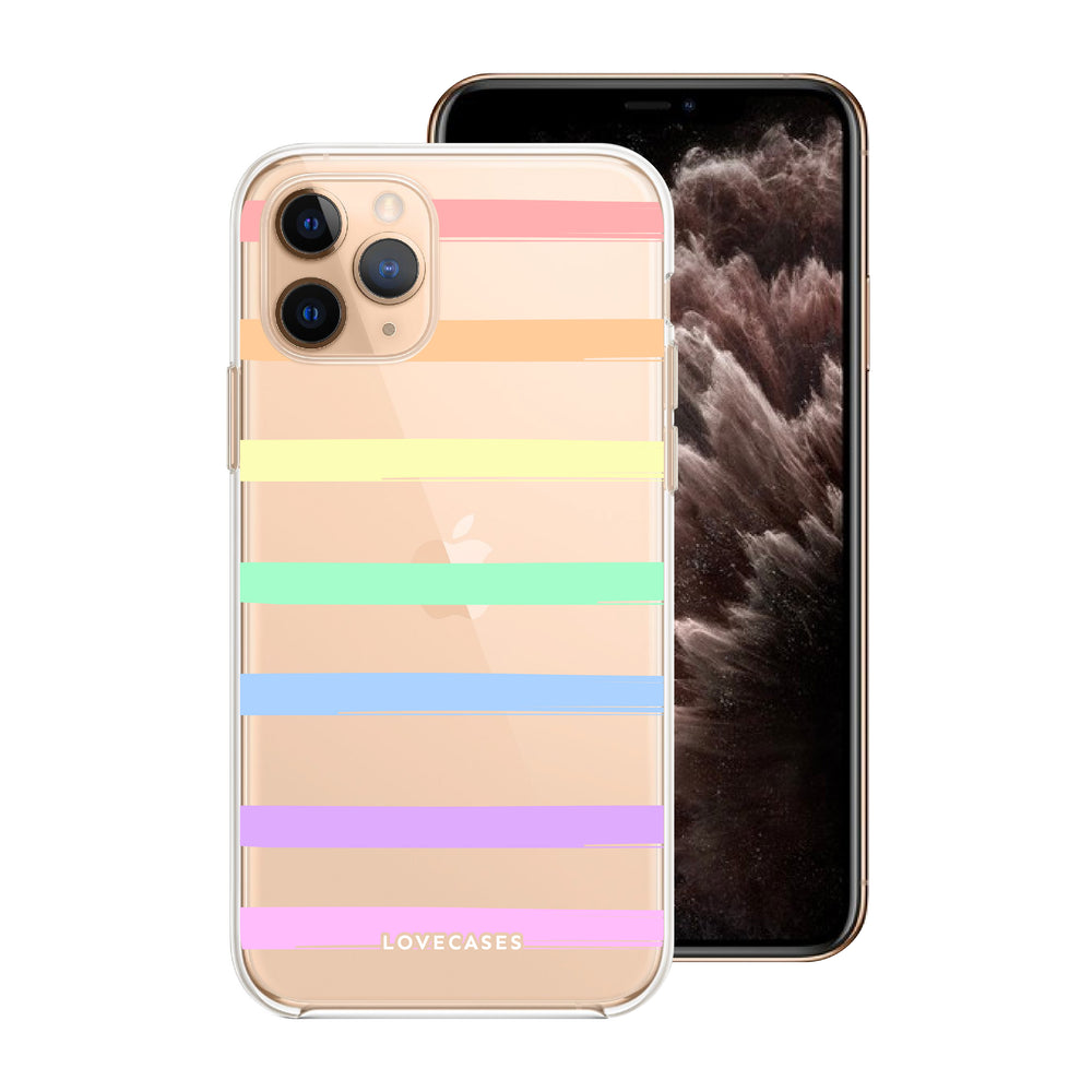 Load image into Gallery viewer, Rainbow Stripe Phone Case