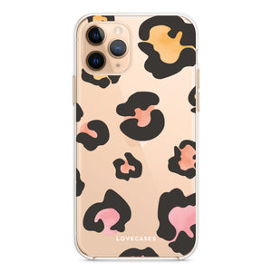 Colourful Leopard Print Phone Case
