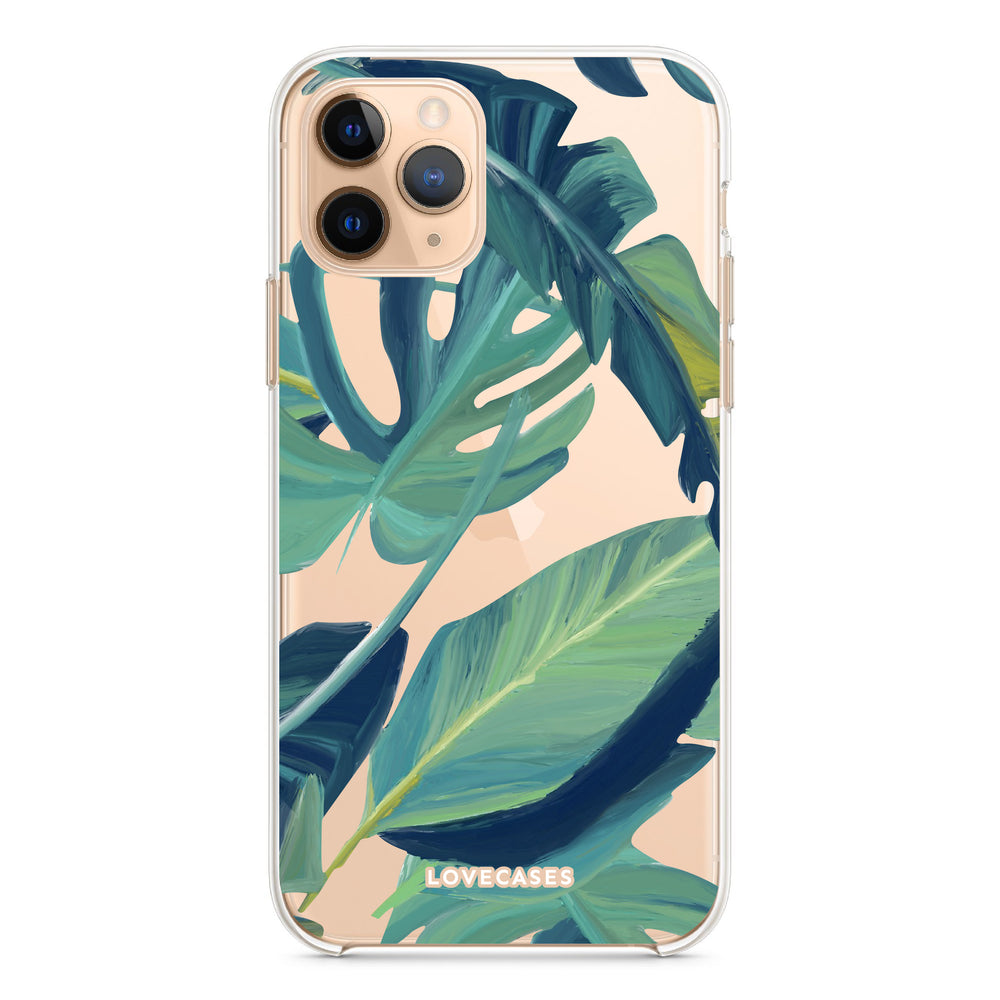 Tropical Banana Leaf Phone Case