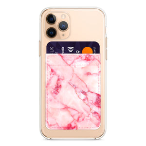 Load image into Gallery viewer, Pink Marble Phone Wallet